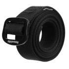 NatureHike Outdoor Tactical Quick-drying Nylon Belt - Black (130cm)