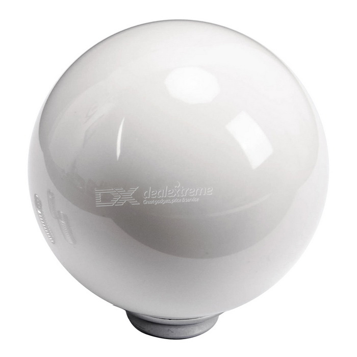 CARKING aleación de zinc Tipo de bola Manual de coches Gear Shift Knob Stick - Blanco