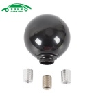 Black Ball Type Manual Car Gear Shift Knob Stick Shifter - Black