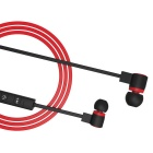 Lightweight Wireless Bluetooth V4.1 In-Ear Earphones - Black + Red