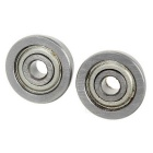 Bearing Steel Flanged Bearings for 3D Printer - Silvery Grey (2PCS)