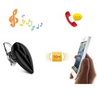 Cwxuan Stereo Bluetooth V4.0 In-Ear Earphone w/ Mic for IPHONE - Black
