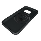 Protective TPU Back Case for Samsung Galaxy S7 Edge - Grey + Black