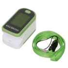 "1.3"" LED Fingertip Pulse Oximeter - Green (2*AAA)"