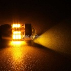 MZ T103W 27-3014SMD Yellow LED Car Clearance Lamps/Steering Lights