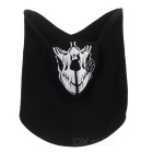 Outdoor Sports Cycling Face Mask - Black + White