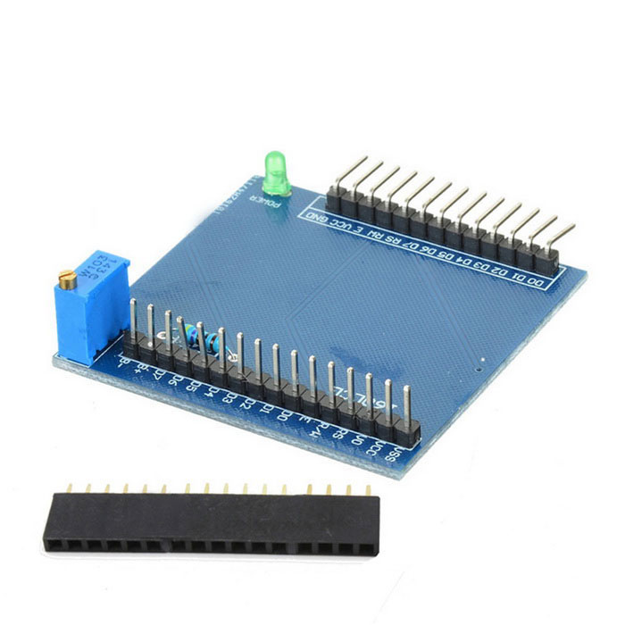Lcd shield expansion board module for arduino blue