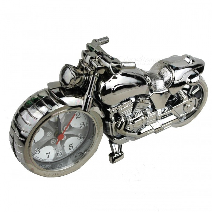 Paint Motorcycle Decorate Alarm Clock