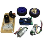ITEAD 2 Wheel Upright Rover Car Robot Starter Kit - Multicolor