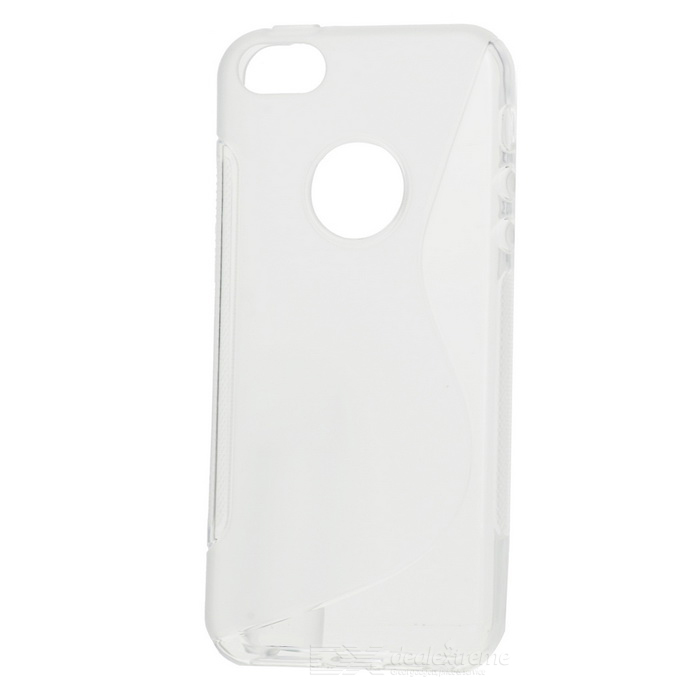 """S"" Pattern TPU Back Case for IPHONE 5SE - Translucent White"
