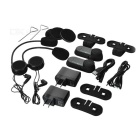 FreedConn 800m Motorbike Bluetooth Interphone Headset Helmet - Black