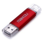 MaiKou 32GB Serpientes Micro USB OTG USB 2.0 Flash Drive - Rojo
