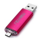 MaiKou 32GB Micro USB OTG USB 2.0 Flash Drive - Deep Розовый