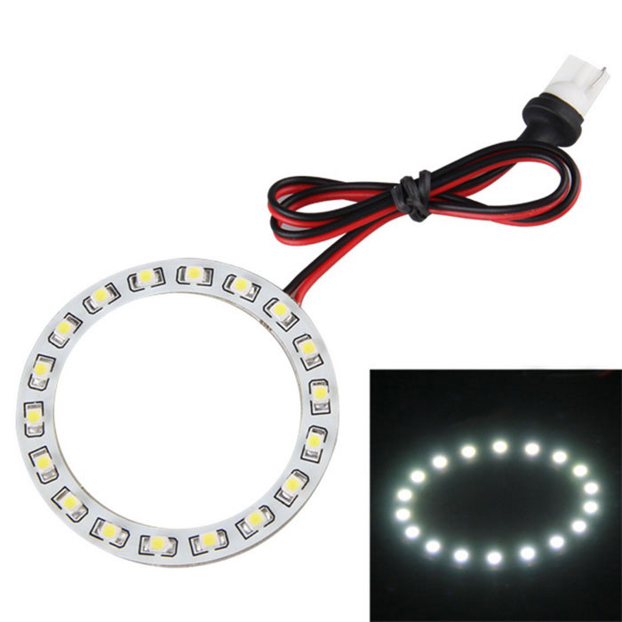 Qook Round Ring 18-1210 SMD LED White LED Headlamp - White + Yellow