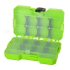 JAKEMY PJ-2002 Fishing Accessories Storage Assortment Case Box - Green