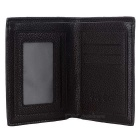 DBLO Foldable PU leather Wallet Purse for Men / Students - Dark Brown