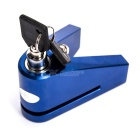 1409 CNC Aluminium Alloy Lock for Motorcycle - Blue