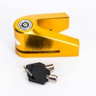 1409 CNC Lock for Motorcycle - Golden