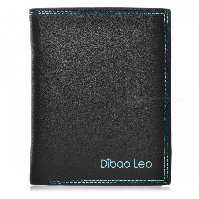 DBLO PU Leather  Wallet Purse for Men, Students  - Black