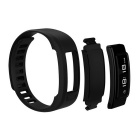 Ordro S6 Smart Bracelet,Support Pedometer, Sedentary Reminder - Black