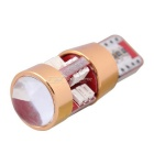 MZ T10 3W 27-3014 SMD Red LED Car Clearance Lamps (DC 12~24V / Pair)