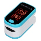 "1.3"" LED Fingertip Pulse Oximeter - Blue (2*AAA)"