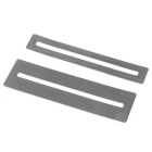 Fretboard Fret Protector Fingerboard Guards for Guitar Bass - Silver