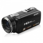 "Ordro HDV-Z8 1080P Digital Video Camera w/ 3"" Touch TFT Screen - Black"