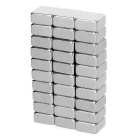 F10*10*5mm Square NdFeB Magnet - Silver (30PCS)