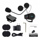 FreedConn FDC VB 500M Motorbike Bluetooth Headset Intercom - Black