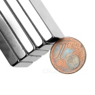 50*20*5mm Rectangular NdFeB Magnet - Silver (10PCS)