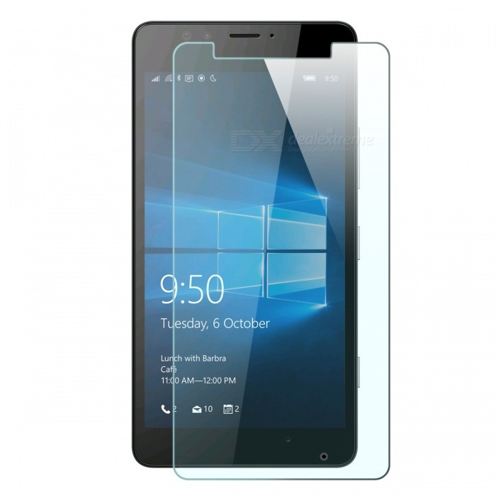 Mr.northjoe Tempered Glass Film for Microsoft Lumia 950 - Transparent