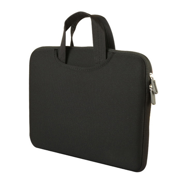 "AKR Dual-Purpose forro do saco / sacola para o MacBook Air de 11,6 ""- Black"