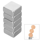 F10*10*5mm Square NdFeB Magnet - Silver (5PCS)