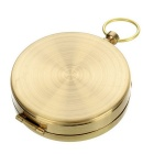 Multifuncional Outdoor Pocket Watch Estilo luminoso Compass - Golden