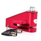 1409 CNC Lock for Motorcycle - Red