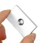 50*30*5 Rectangular NdFeB Magnet w/ Hole - Silver