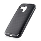 Protective TPU Back Case for MOTO G - Black