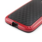 Protective TPU Back Case for MOTO G - Black + Red