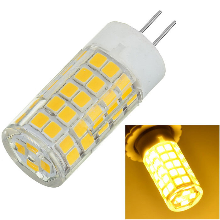 Marsing G4 7W Warm White Light Lamp - White + Yellow (AC 220~240V)