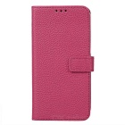 PU Leather Case w/ Holder Card Slot for Samsung Galaxy S7  - Rose