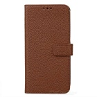PU Leather Case w/ Holder Card Slot for Samsung Galaxy S7  - Brown