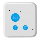 Mini GSM GPS Smart GPRS Locator Tracker Car Positioning Alarm - White