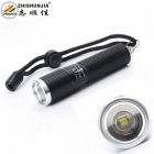 ZHISHUNJIA SK28-Q5 LED Mini Zooming Flashlight - Black (1*14500)