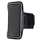Outdoor Jogging Arm Band Case for Samsung Galaxy S7 Edge - Black