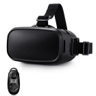 VR Box Virtual Reality 3D Video Glasses w/ BT Controller - Black