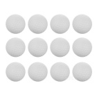TOURLOGIC Indoor Practice Golf Balls without Hole - White (12PCS)