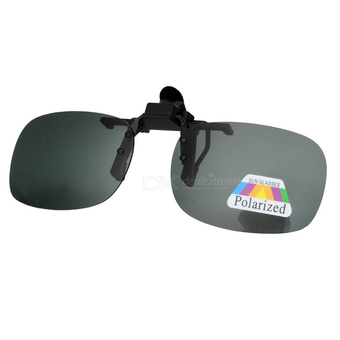 UV400 Protection Sunglasses Polarized Lenses - Dark Green (M)Sunglasses<br>Frame ColorBlack GreenLens ColorDeep GreenQuantity1 DX.PCM.Model.AttributeModel.UnitShade Of ColorGreenFrame MaterialPlasticLens MaterialResinProtectionUV400GenderUnisexSuitable forAdultsFrame Height3.7 DX.PCM.Model.AttributeModel.UnitLens Width5.6 DX.PCM.Model.AttributeModel.UnitBridge Width2.2 DX.PCM.Model.AttributeModel.UnitOverall Width of Frame0 DX.PCM.Model.AttributeModel.UnitPacking List1 x Clip-on lenses<br>