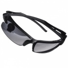 Men's Driving UV400 Protection Sunglasses Goggles - Black + Grey