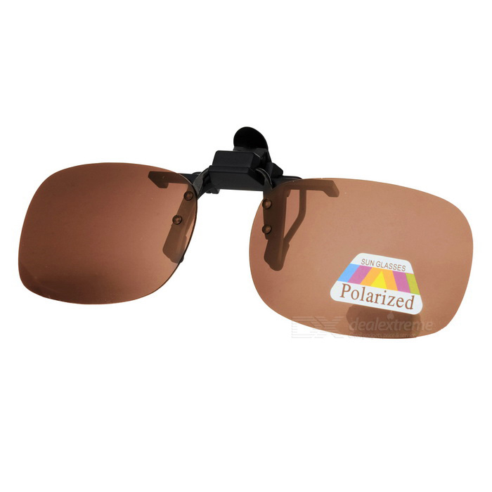 UV400 Protection Sunglasses Polarized Lenses - Tawny + Black (M)